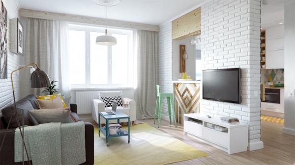 如果你家只有50平米,又想同时拥有所有居家空间,