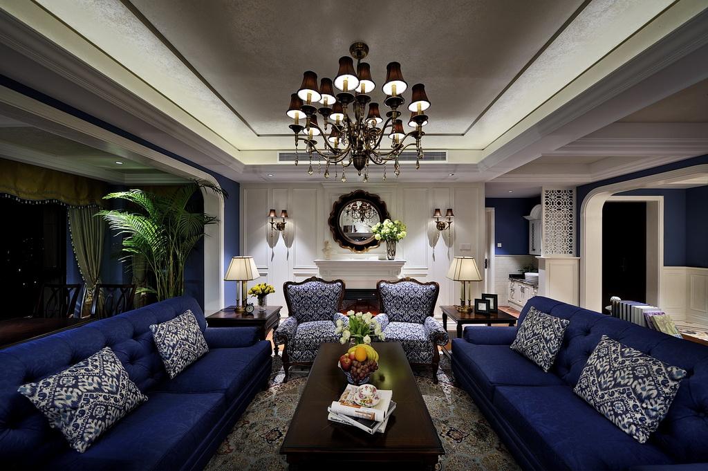 客厅设计原理保持自然、淳朴的风格,使其看起来更整洁、美观。