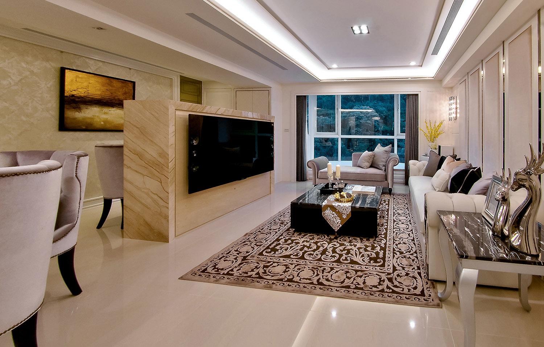 客廳裝修最重要的是采光和室內布局。
