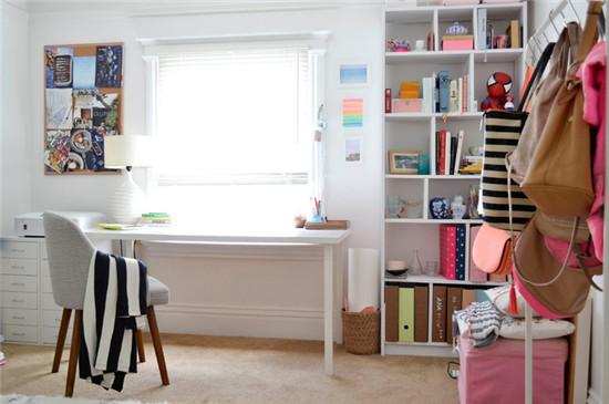 简单的设计和橱柜充足的收纳空间更容易让工作区域保持洁净。