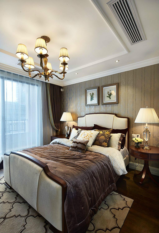 老人房設計相對簡單,古典雅致的環境更有利于老人的睡眠~