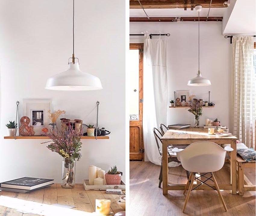 餐桌上精致的小饰品和品味不俗的小花,让这个空间充满灵动的气质。