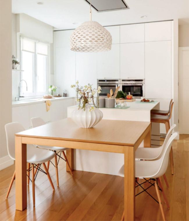 厨房装修效果,通过丰富的色彩,展现不同厨房橱柜效果