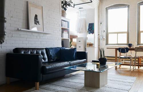 大多数储藏空间来自一开始设计自然生成的角落。