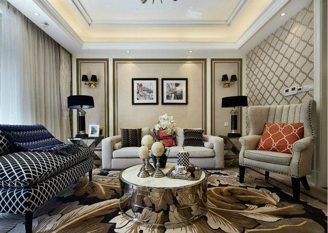 意大利新古典家居设计秉承一贯的宗旨——延续皇室和贵族的奢华。