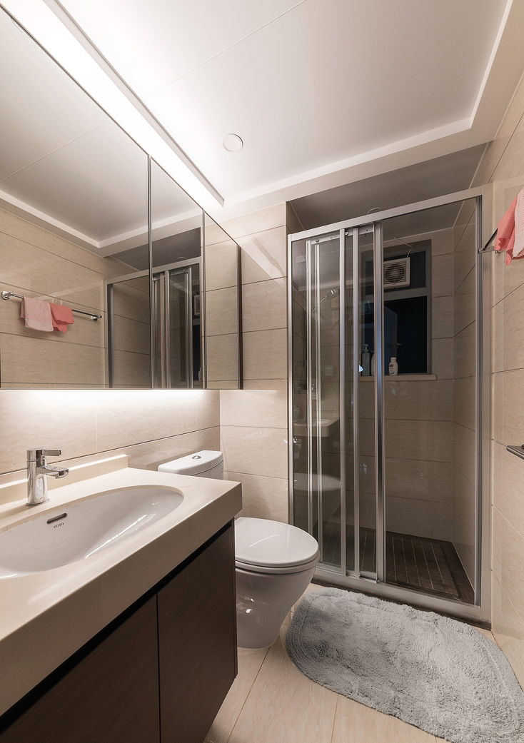 干湿分区,保证卫生间的清爽整洁和使用舒适度。