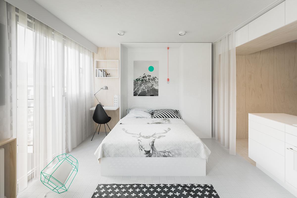 卧室是最好的休息空间,应该具有安静、温馨的特征,所以卧室装修从选材、色彩、室内灯光布局到室内物件