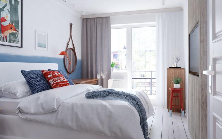 阳光透过宽阔的落地窗洒到床上,懒洋洋,暖洋洋。