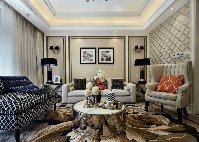 云淡风轻的独特美感,在居室之中,给人带来轻松愉悦之感。