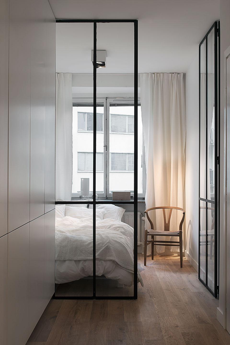 卧室空间格局规划合理体现出小户型的特殊性,充分体现主人生活的规律以及清爽