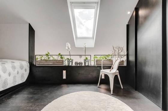 不可缺少的混凝土原色依旧是设计的亮点。
