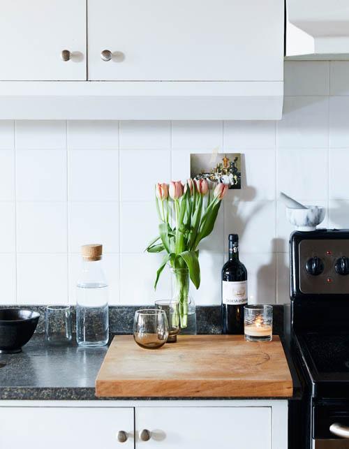 厨房整体干净整洁,让人使用起来心情舒畅!