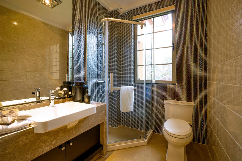 卫生间不求过度的装饰,但讲究简单与高品质,注重功能性与人性化