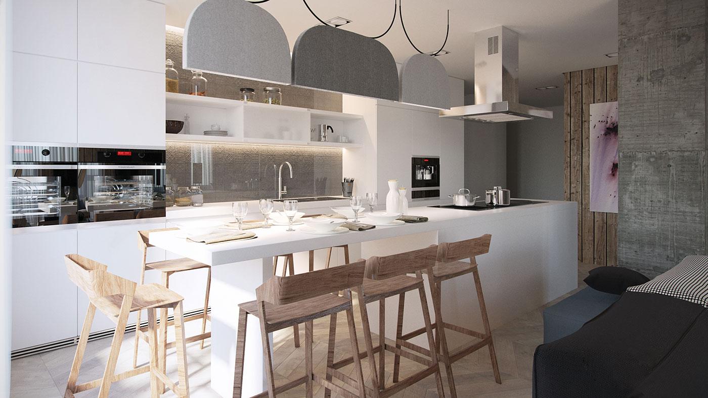 餐厅的装修设计在家庭中有着举足轻重的地位,个性又有创意的餐厅设计给生活带来不一样的体验
