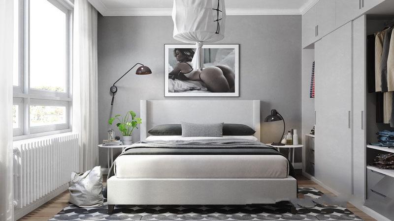抢眼的装饰画,让时髦与艺术的美感贯穿室内。