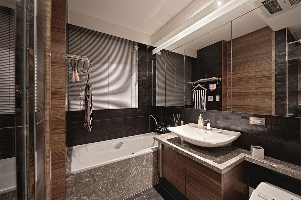 衛生間整體干凈整潔根據自己的喜歡來裝修,舒適溫馨