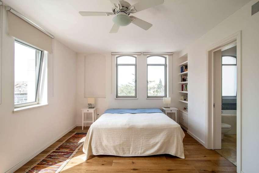 两面墙都有窗户,杨过更能照进房间。整体给人简单,安静的感觉。