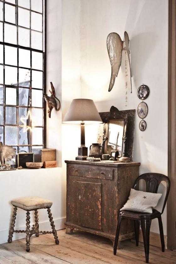 这里的每一件家饰都是屋主精心挑选的,大到沙发,小到墙上的配饰。