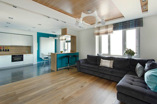屋主的需求是希望能拥有一间宽敞明亮的生活空间以及充足收纳空间。