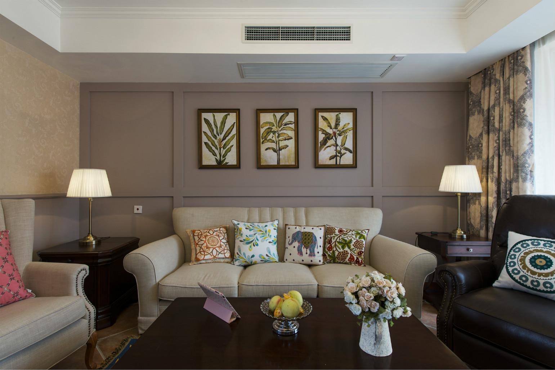 整体色调就是又浅逐步上升的,很有层次感,尤其是皮质沙发与桌子,凸显了大气。