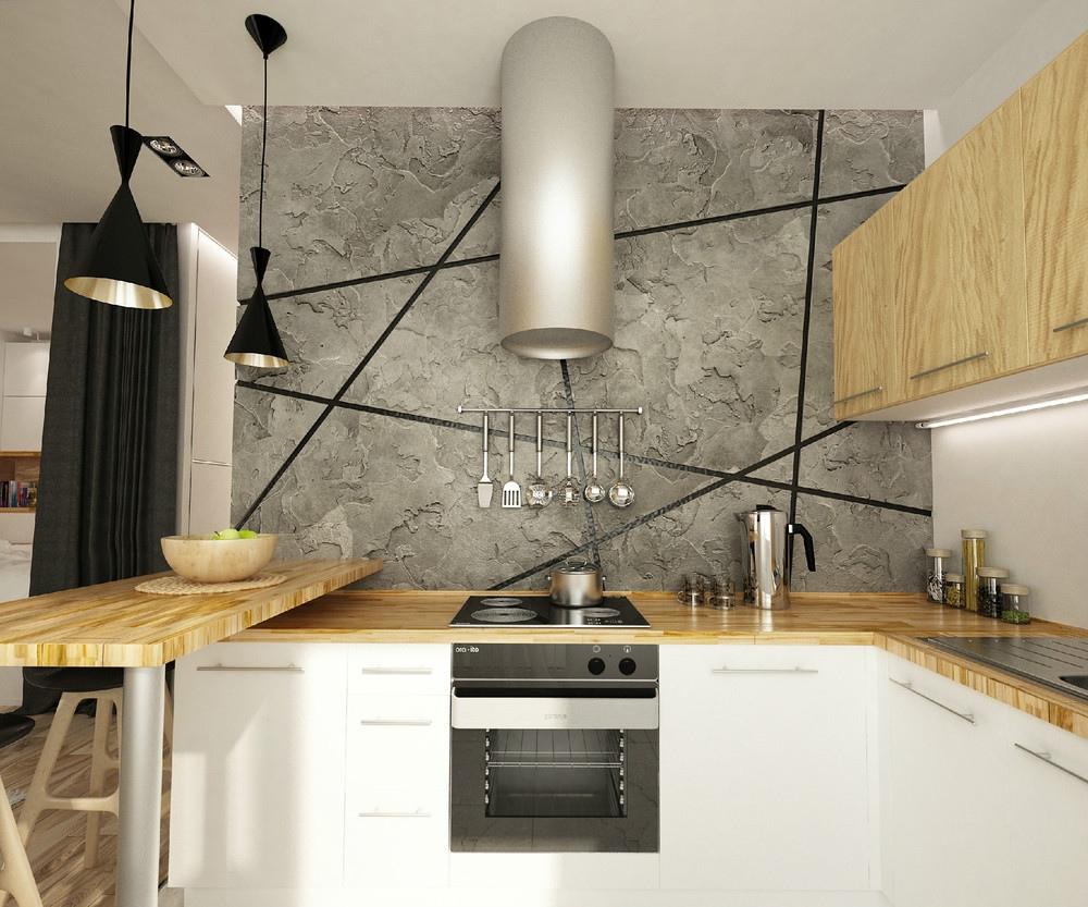 餐厅装修冷暖色调搭配适宜,让视线更加柔和,居室更加温馨。