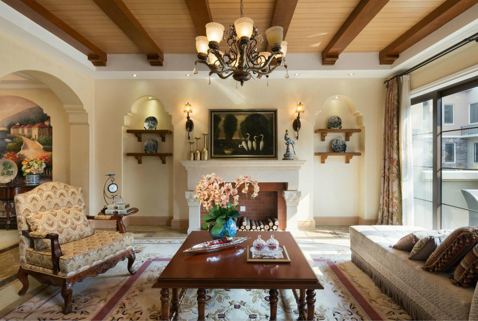 客厅追求时尚与潮流,非常注重居室空间的布局与使用功能的完美结合
