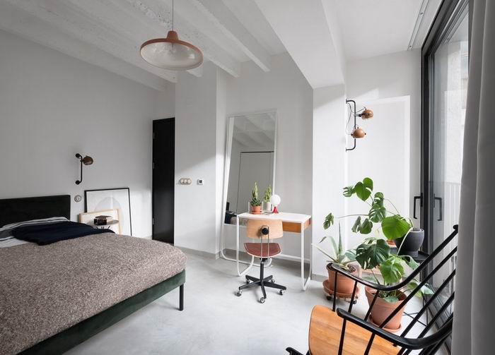 床头简洁明了,符合现代风的设计。