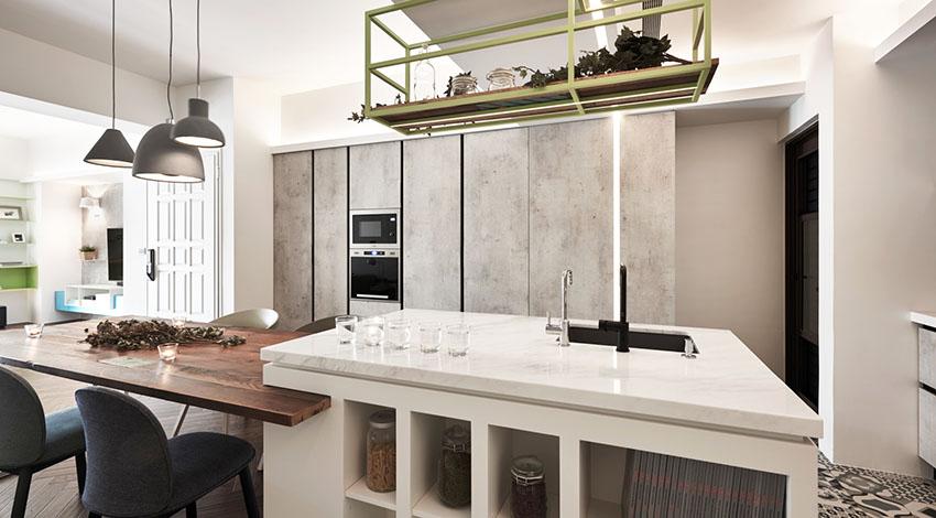 如果说客厅是家中的心脏,那么餐厨就像其他器官一样重要。