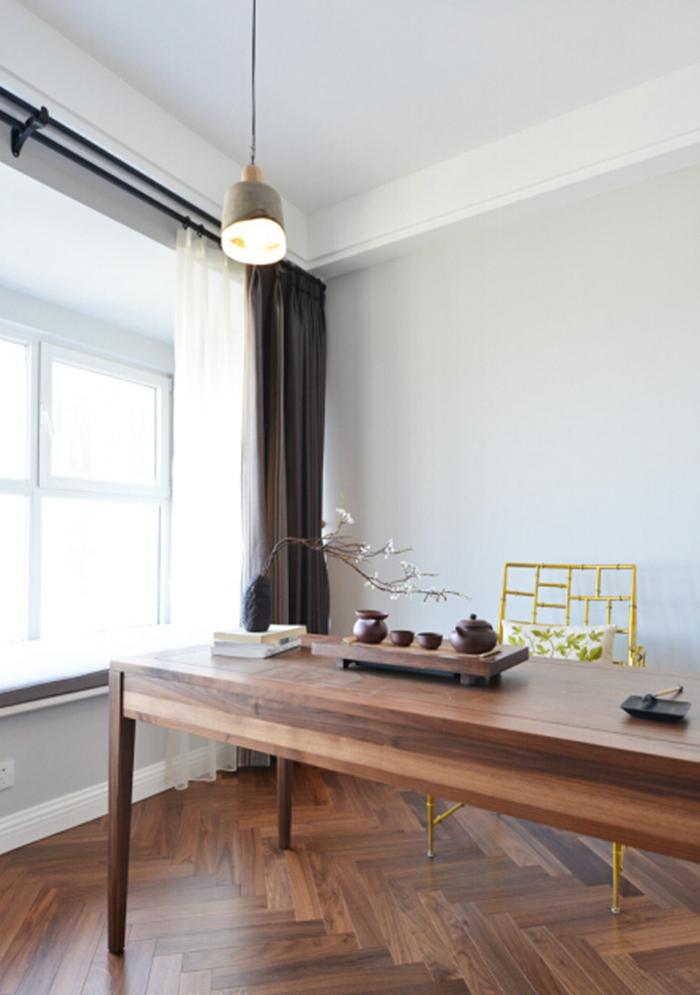 竹节椅,既有东方韵味又有西方气质,是书房的画龙点睛之笔。