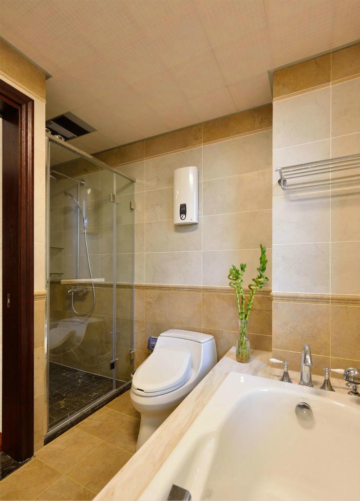 卫生间小小的空间依然拥有大大的能量