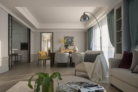 透过家具摆设定义场域机能,创造家人、宾客间能够紧密互动的交流场所。