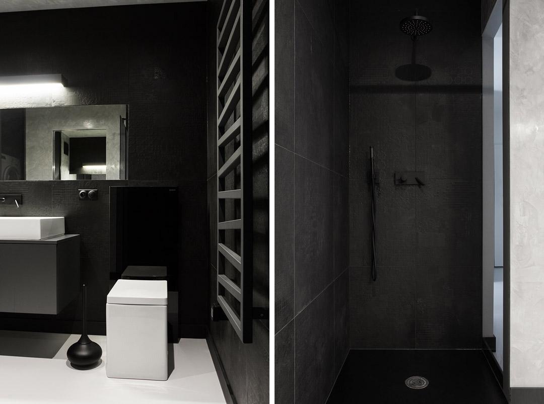 卫生间干湿分离,铺上白色墙砖让这个小空间更加亮敞干净