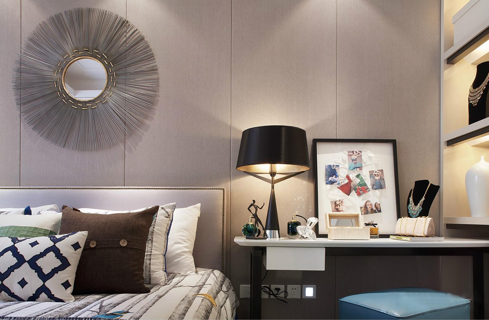 墙面格外温馨的时尚装饰,空间的利用非常完美