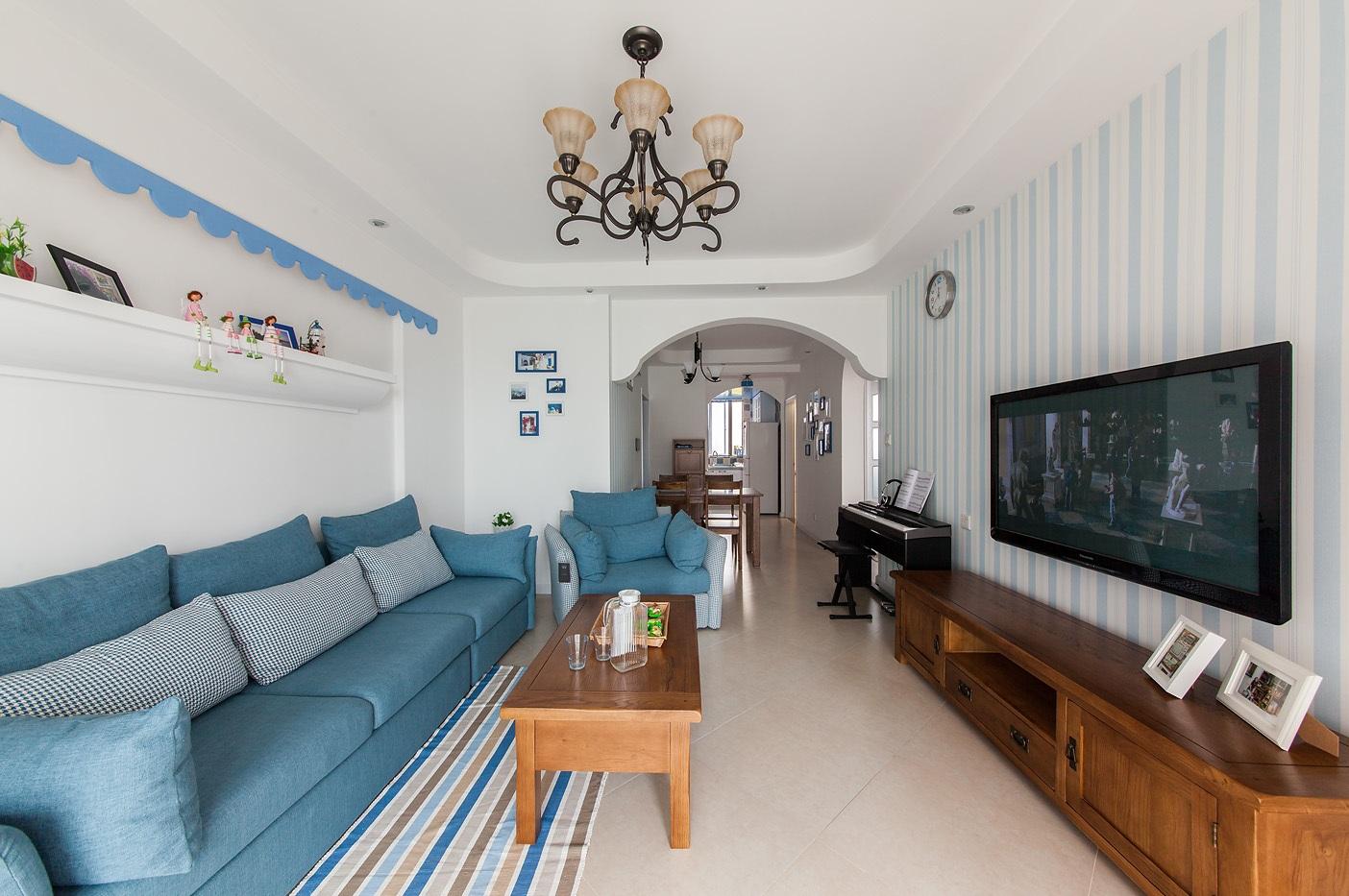 客厅是门面,也是最能代表房子装修好坏的依据