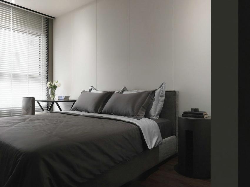 井井有序的卧室布置,让人可以安心休憩。