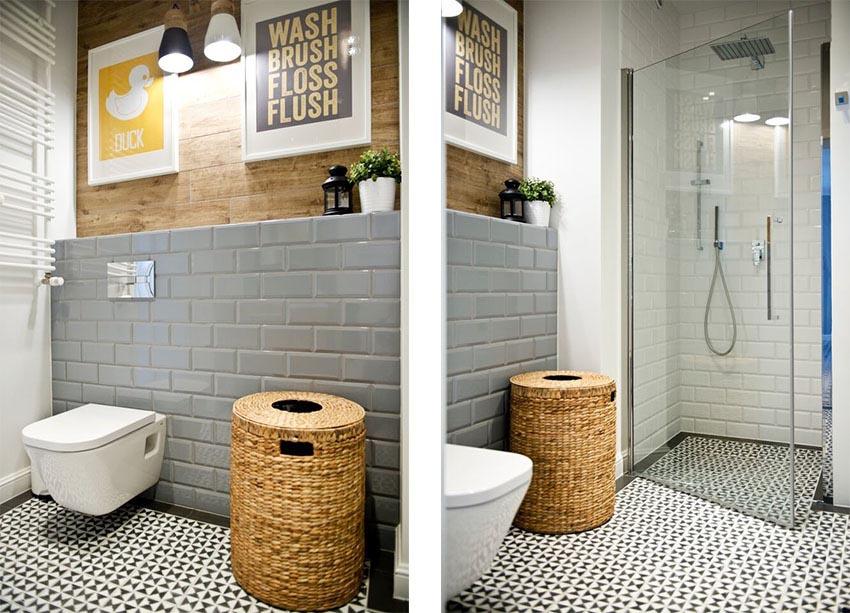 卫浴空间有条不紊,干净整洁。
