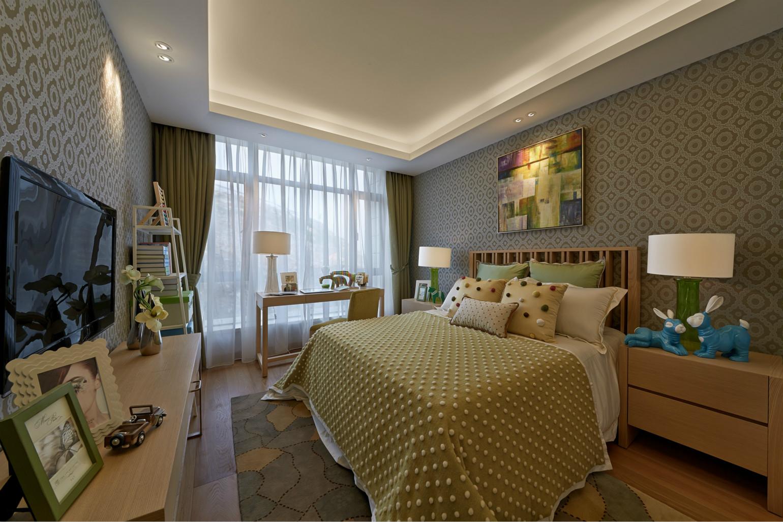 房间有效利用了畸零空间,实现了空间机能的最大化。