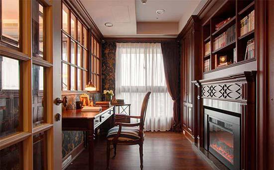 深色木材色调则勾勒华贵的韵律,并营造生活的温煦质感。