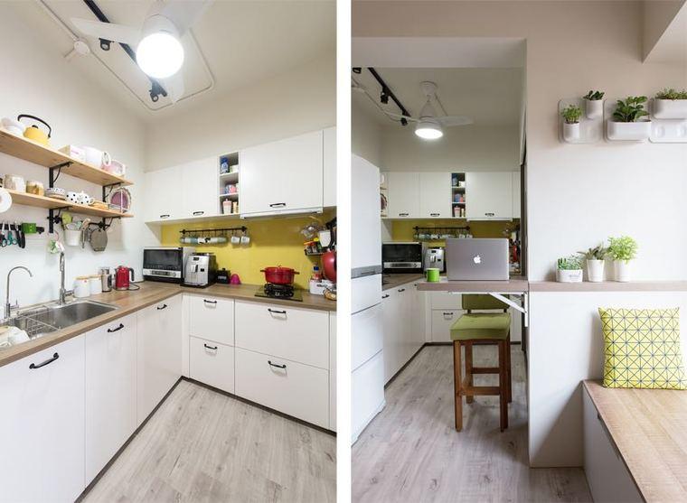 重新規劃的廚房顯得寬敞了許多|__360双色球走势图表大全,滿足了屋主對料理的需求-|-psp phone。