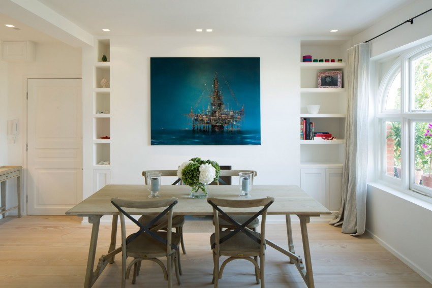 风格设计则是以巴黎公寓和地中海风格为设计灵感。