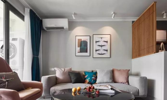 莫兰迪色,它是一种灰色调的低纯度、低饱和的色彩,可以勾勒出柔和宁静、舒缓雅致的美感,用于家居空间。