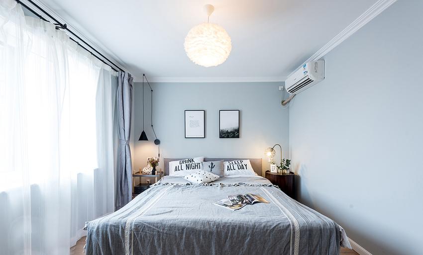 阳光透过纱帘照到卧室,静静的午后,惬意的睡眠,仿佛能听到你平稳的呼吸。