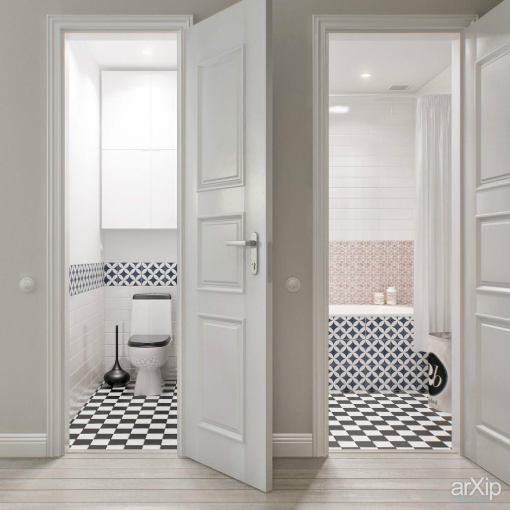 卫生间的洗手台和洗浴台是分开的,整体 干湿分离,