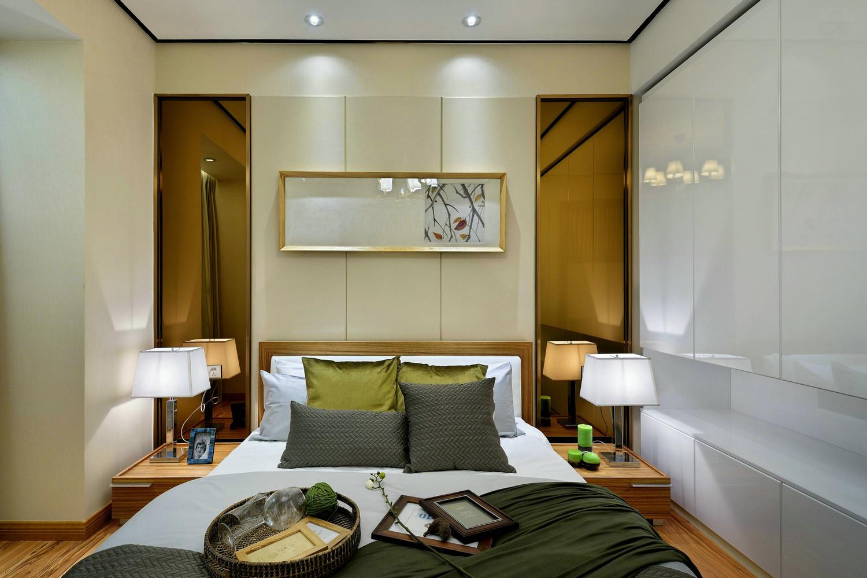 卧室留白都是比较重要的一点,营造出一种禅意的感觉。