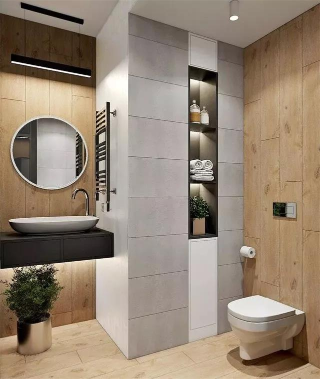 Contemporary bathroom renovation style Malaysia