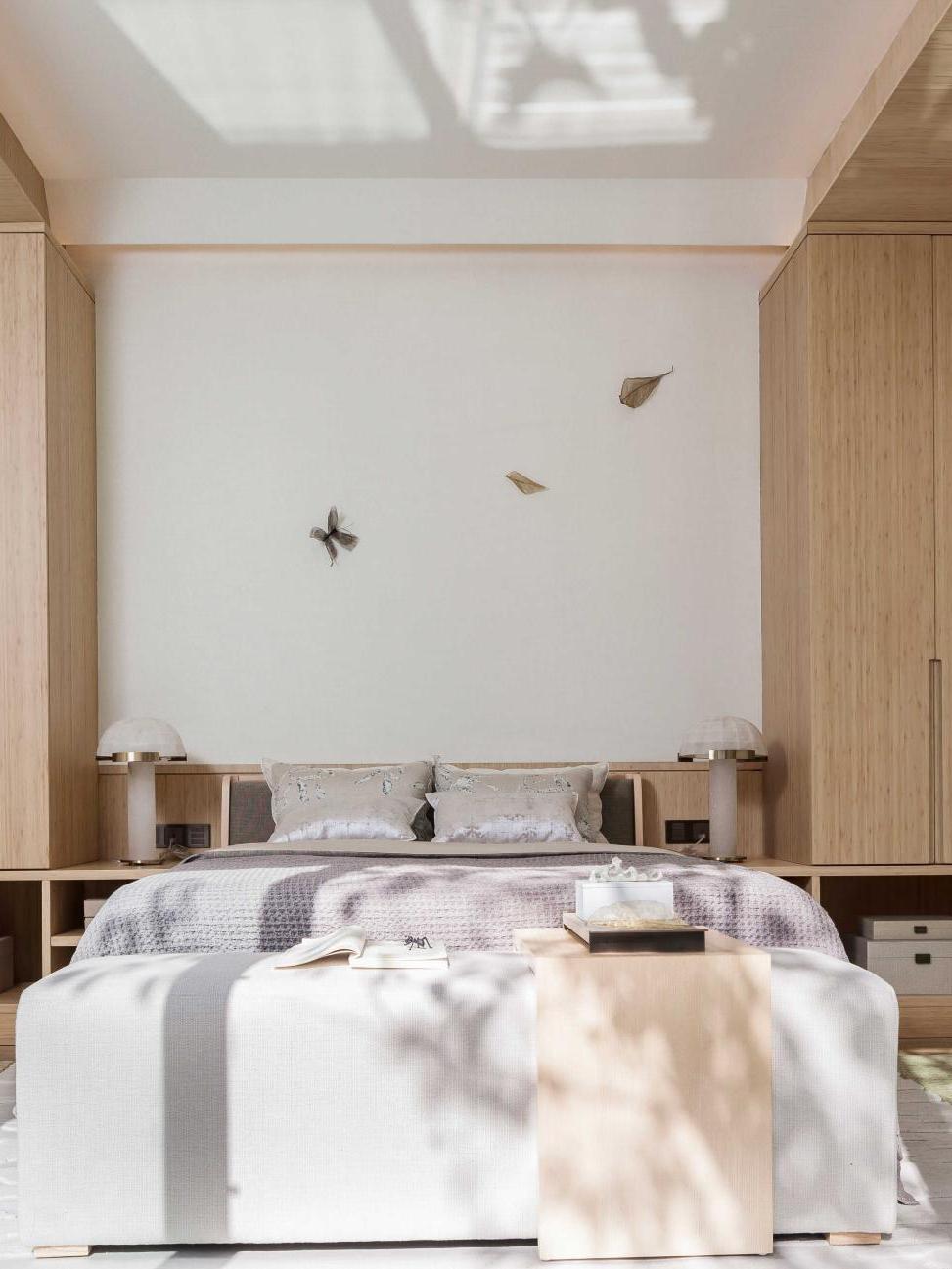 给爸妈设计的卧室打100分,11万装110㎡两居室,幸福感UP UP!