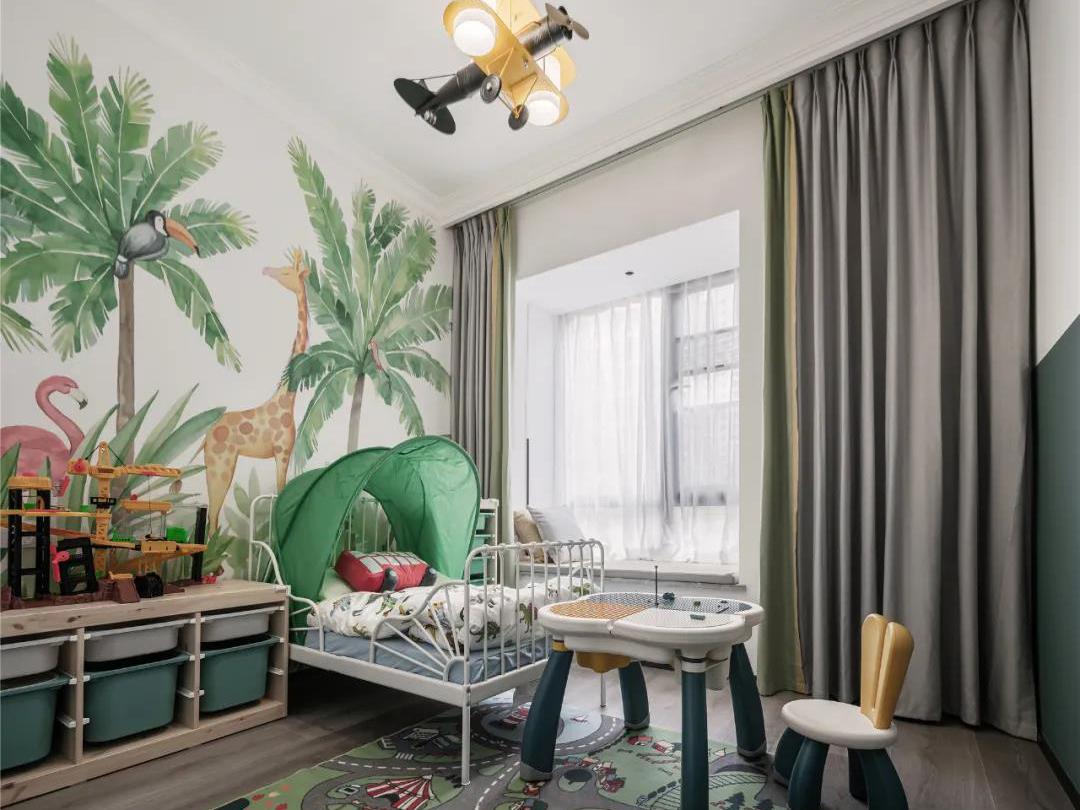 私藏这套深圳118㎡老房,儿童房这样设计太妙了!