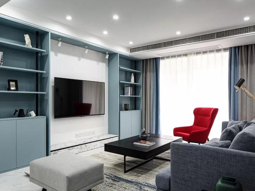 深圳夫妻改造120㎡,定制收纳柜+榻榻米书房,这个家超精致