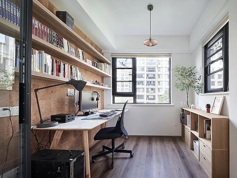 100㎡老房大翻新丨文艺飘窗+治愈书房,让我爱上回家