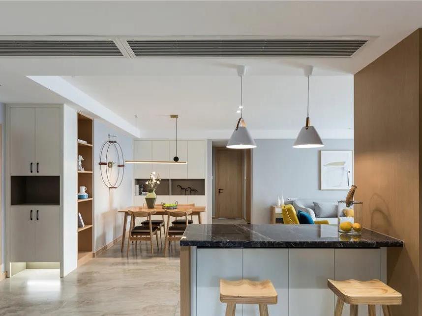 真香警告!客餐厨空间变大秘籍曝光,这个家通透又宽敞!